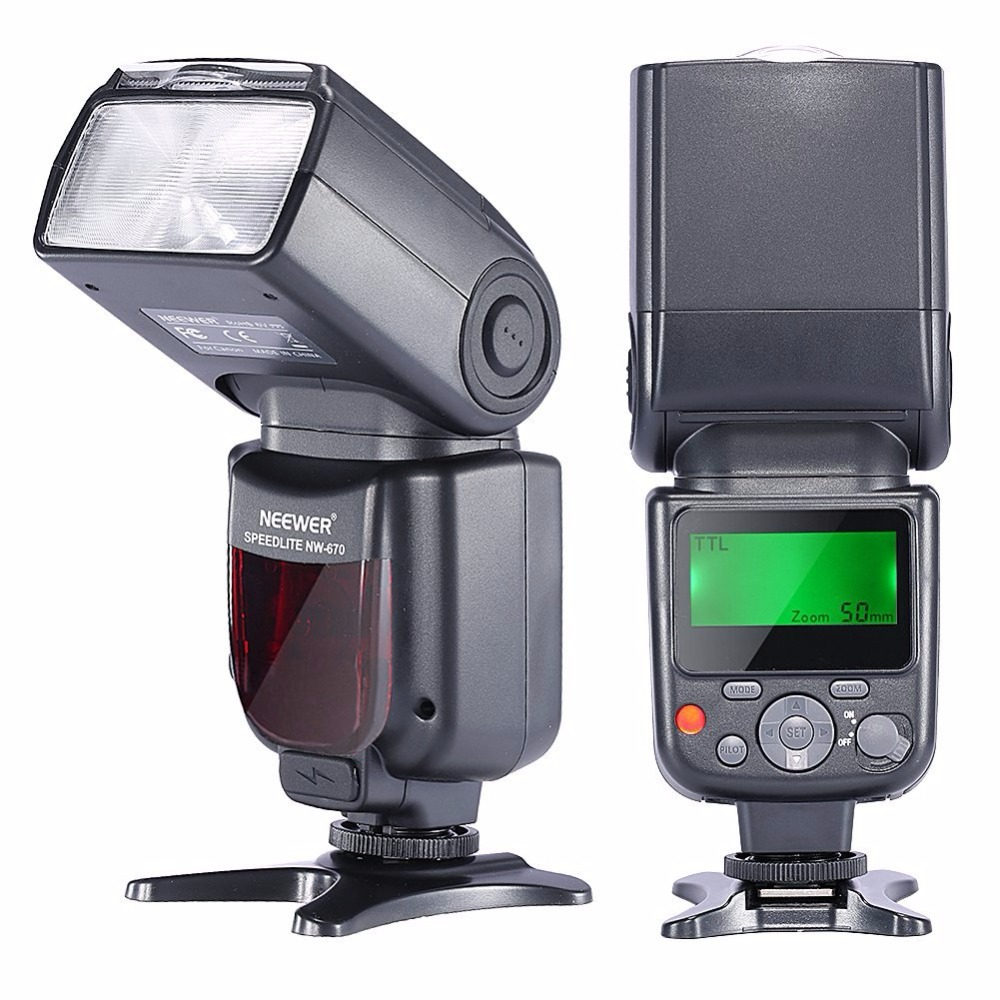 Neewer NW670 E-TTL Flash Speedlite For Canon T5i T4i T3i T3 700D 650D 600D 1100D 550D 6D 1Ds Mark I II III IV 5D Mark III II I
