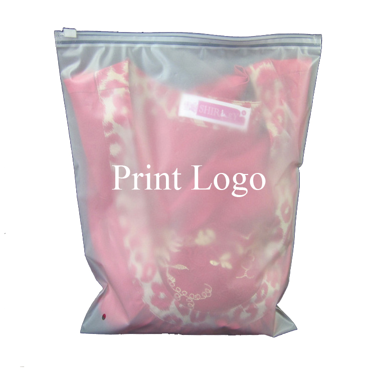 20pieces Tavel Portable Zip Lock Waterproof Sealing Packaging Underwear Packing Storage Bag Zipper Transparent Package Pouch