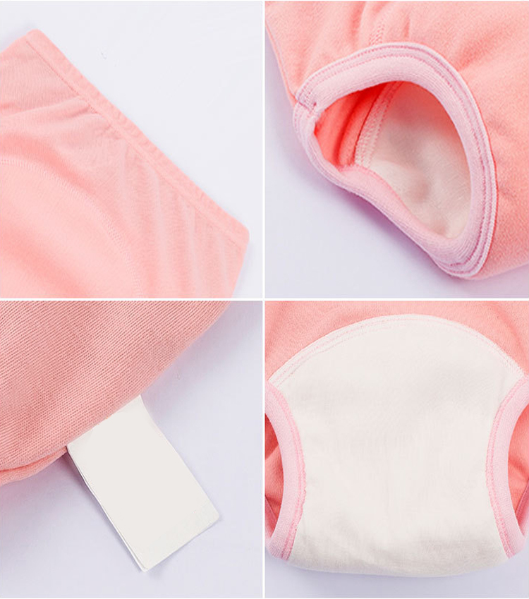 high quality baby solid underwear training panties super soft cotton fabric