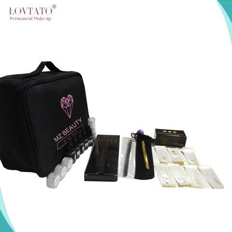 microblading profissionais kits de maquiagem permanente starter kit tattoo supplies 3d pmu tatuagens da sobrancelha
