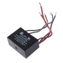 Capacitor de relé de energia elétrica cbb61, capacitor de ligação 4.5uf + 6uf + 5uf 250v 5 fios