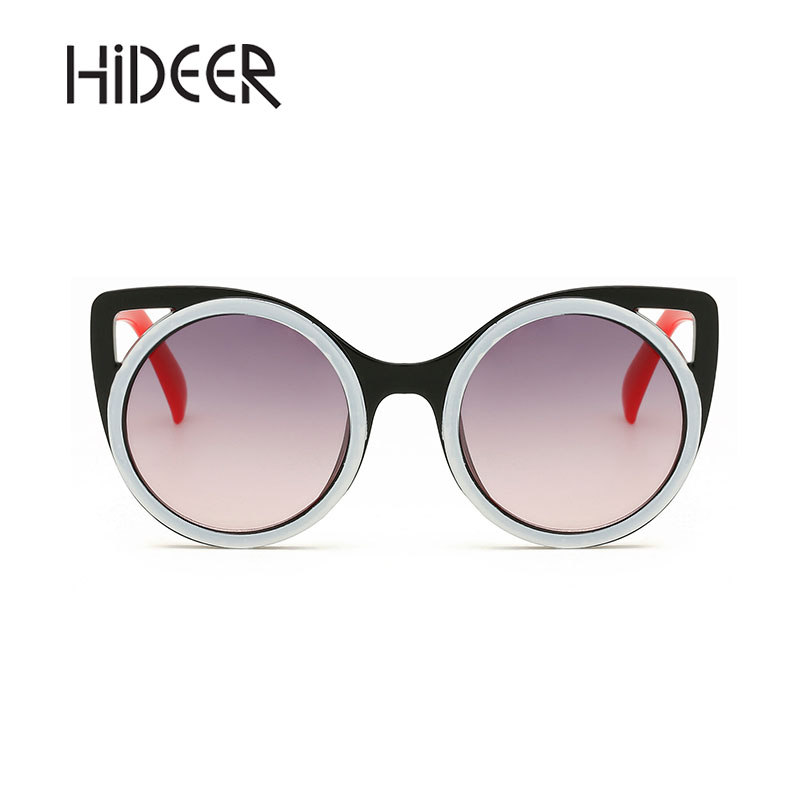 HiDEER Logo Children Sunglasses Cat Frame Sun Glasses 2018 Goggle Eyewear Boys Girls Accessory Cute Kids Sunglass AE-18PR012