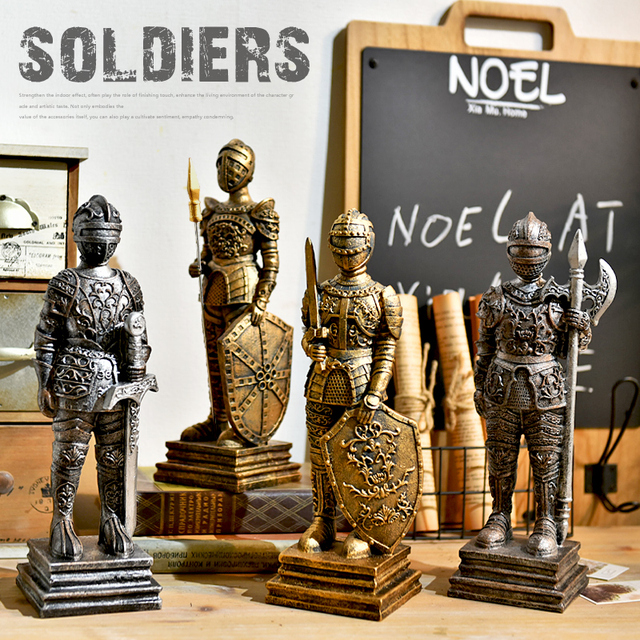 Nutcracker Soldiers Doll Creative cartoon children room Christmas ...