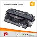 Xxl toner para hp q7553x 53x toner preto 7000 páginas rendimento hp laserjet p2014 p2014n p2014dn p2014d p2014x p2015 p2015n P2015d