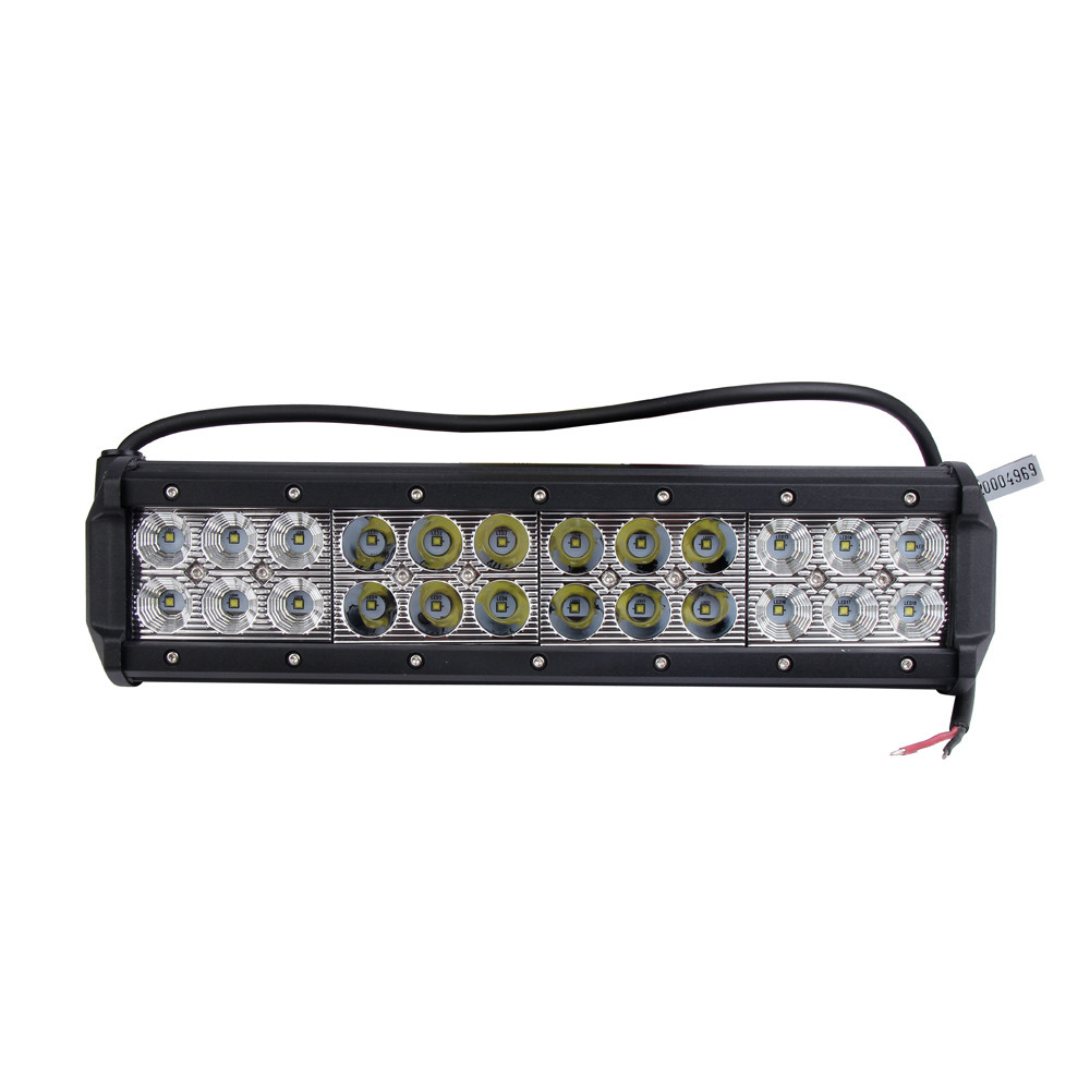 Car Light 1pcs 12inch 72w Led Work Light Bar Flood Spot Driving Fog Offroad Truck For SUV Lamp Bulb Light 12V New #01