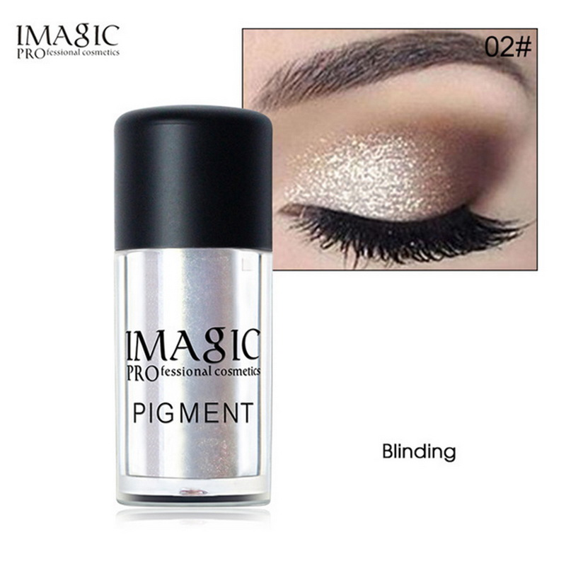 IMAGIC 9 Colors New Loose Pigment Glitter Shimmer Makeup Metallic Glitters Powder Diamond Loose Eyes Body Maquiagem