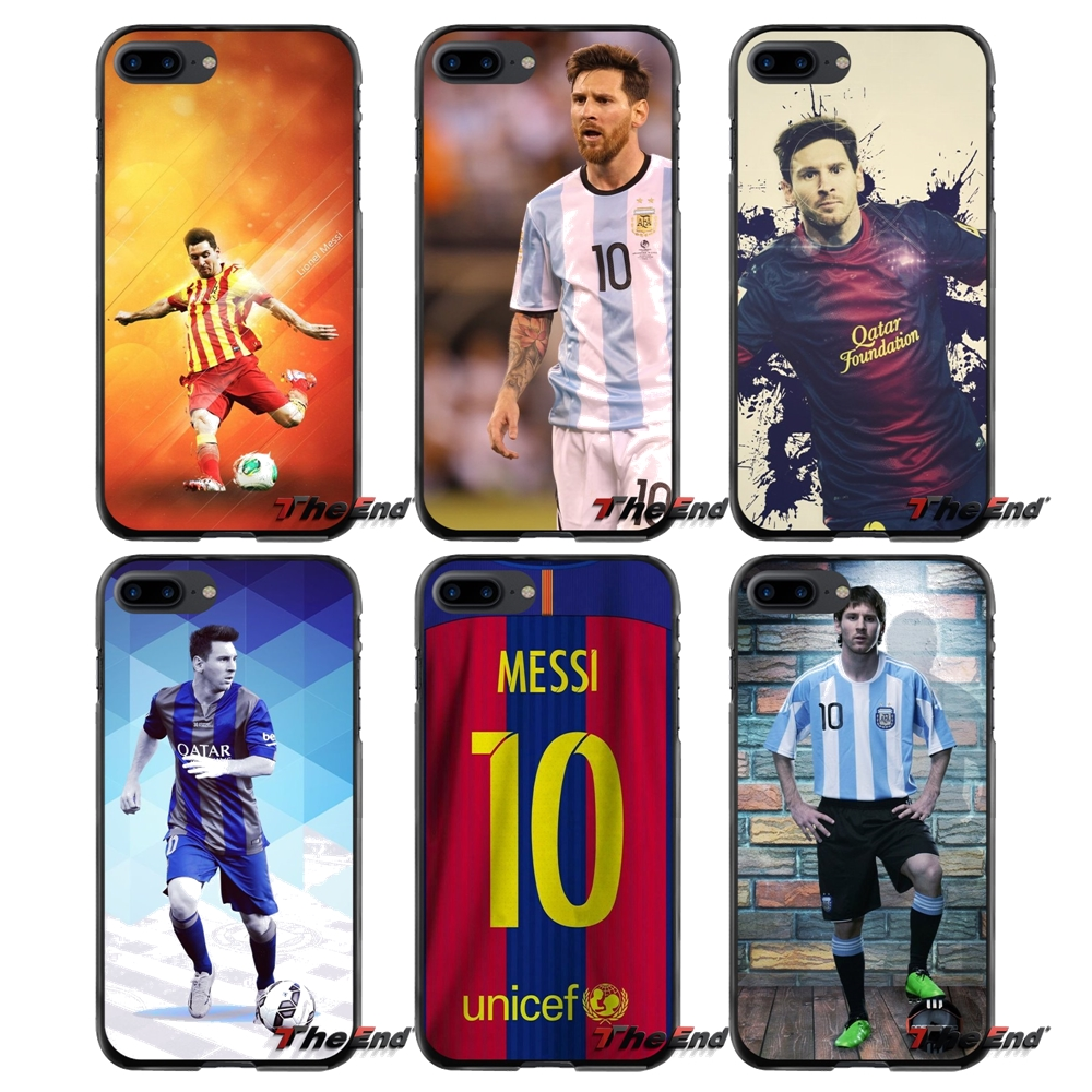 For Apple iPhone 4 4S 5 5S 5C SE 6 6S 7 8 Plus X iPod Touch 4 5 6 Accessories Phone Shell Covers Lionel Messi