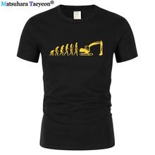 men t shirt Evolution T