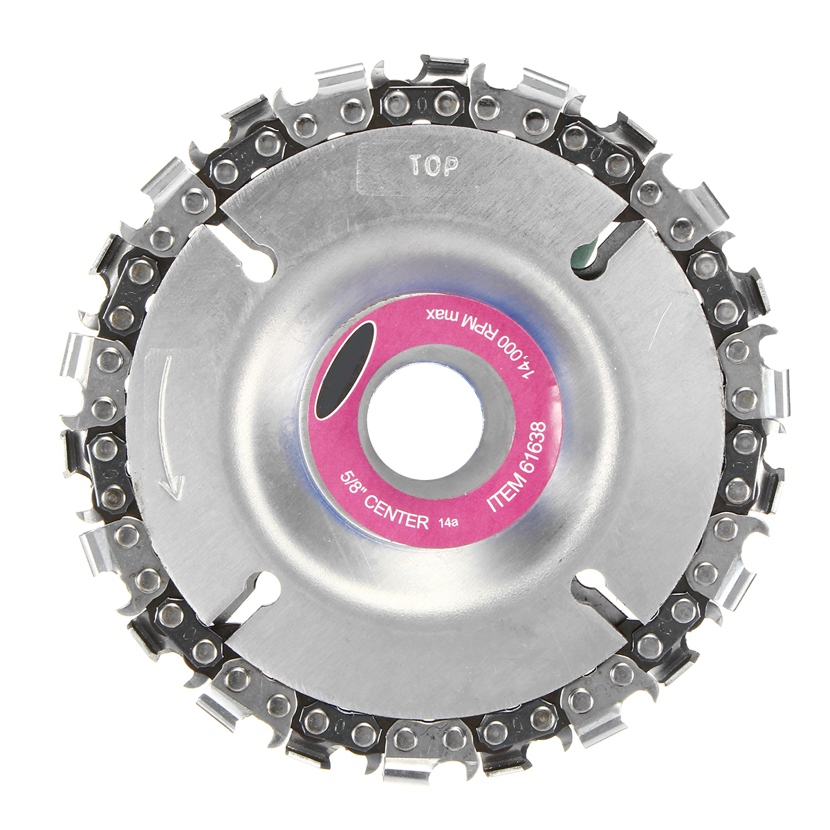 Disco de amoladora de 4 pulgadas y cadena de 22 dientes juego de cadena de corte fino para amoladora de ángulo 100/115