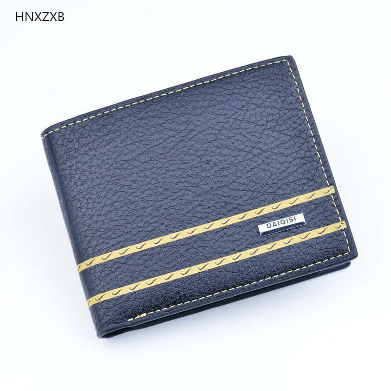 Small Luxury Brand Male Men Wallet Purse Clutch Handy Portfolio Portomonee Walet Bag Cuzdan Money Men Fashion Vallet Card Holder