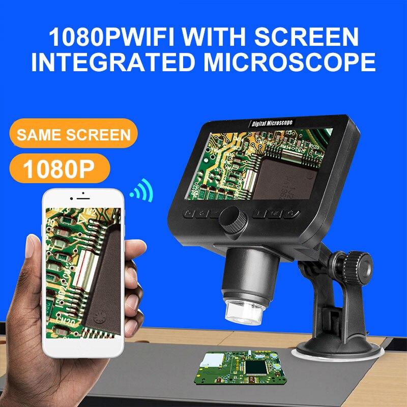 Eletrônico de Monitoramento Wi-fi Microscópio Digital Profissional Computadores 1080 p Duráveis 1000x
