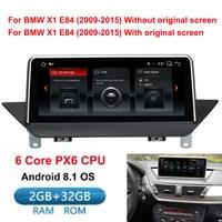 10,25 ips Экран 6 core 2 Гб + 32 ГБ, Android 8,1 автомобиль радио мультимедиа плеер для BMW X1 E84 2009 2015 с gps навигации