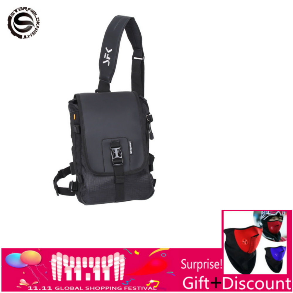 Sacs étanches sac bandoulière noir moto Ultra robuste sac messager Cordura 8 L