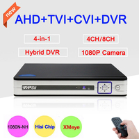 Zhiyuan Metal Case Real Time Playback 1080N 960P 720P 960H Three In One AHD DVR NVR