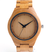Bobobird G21 New Top Brand Designer Full Bamboo Mens Watches Top Brand Luxury Japanses 2035 Moyia Movement Quartz Wristwatches