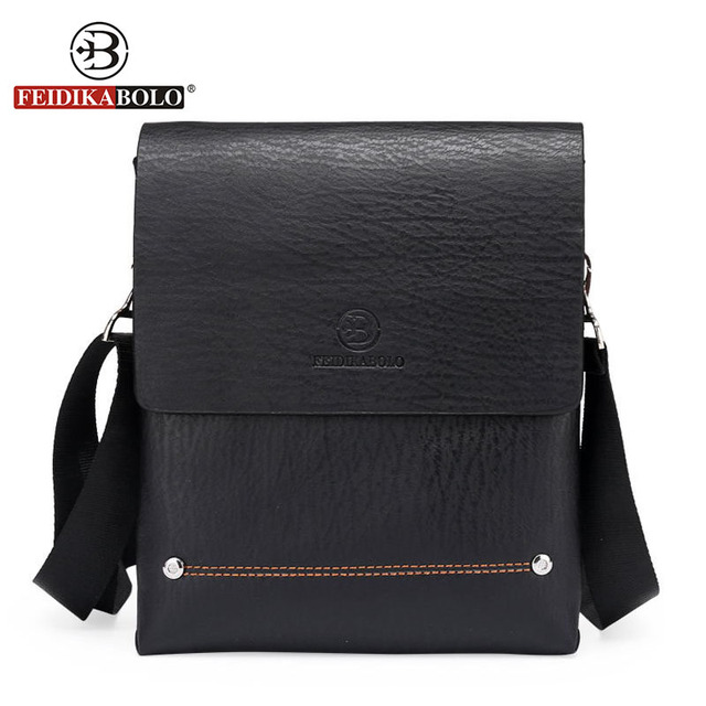 FEIDIKA BOLO Brand Bag Men Messenger Bags Small Shoulder Leather Handbag  High Quality Men s Crossbody Bags f5147c11ad510