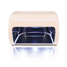 ZKO 1 Pc New Original Nail Dryer Machine 9W Light  30S 60S 90S Drying Profession LED UV Lamp For UV Gel LED Gel Nail Art Tools