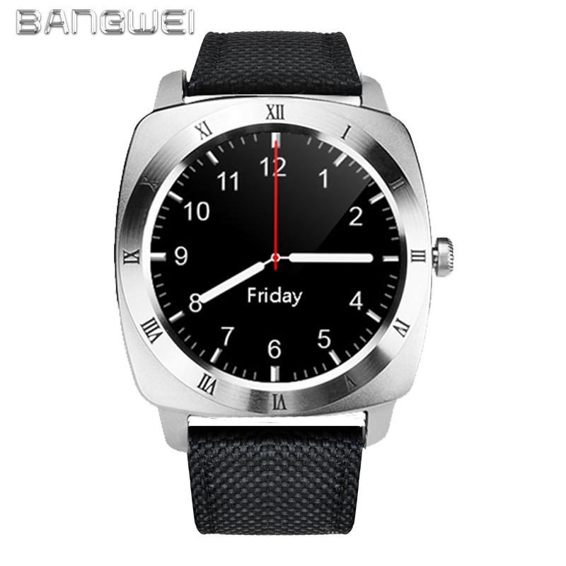 BANGWEI 2018 Nuovo di Marca Smart Uomini Della Vigilanza Militare di Sport Della Vigilanza Digitale degli uomini Casual Nylon Smart Clock Relogio Masculino