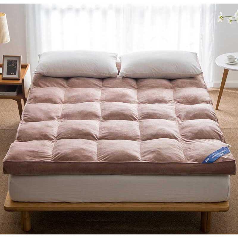 Chpermore Fünf stern hotel verdicken Faltbare Matratze Topper Einzigen doppel Tatami Für Familie Bettdecken König Königin Twin Voll Größe-in Matratzenauflagen aus Heim und Garten bei  Gruppe 1