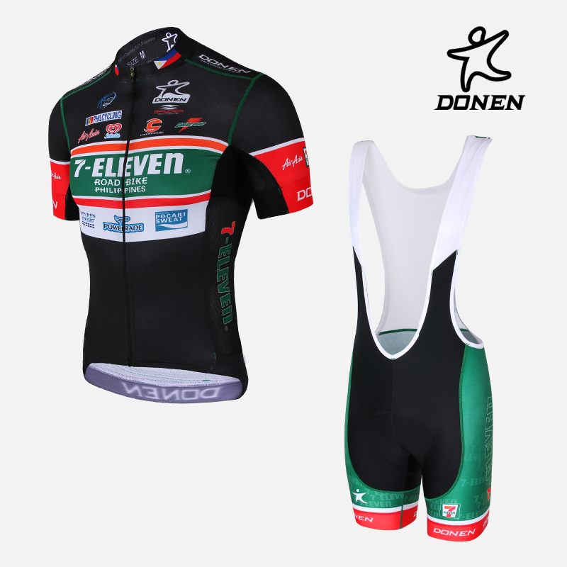 DONEN Summer Pro Cycling Jersey Set Summer Breathable Racing Bicycle Clothing 100% Lycra Quick-Dry Bib GEL MTB Bike Pants veobike men long sleeves hooded waterproof windbreak sunscreen outdoor sport raincoat bike jersey bicycle cycling jacket