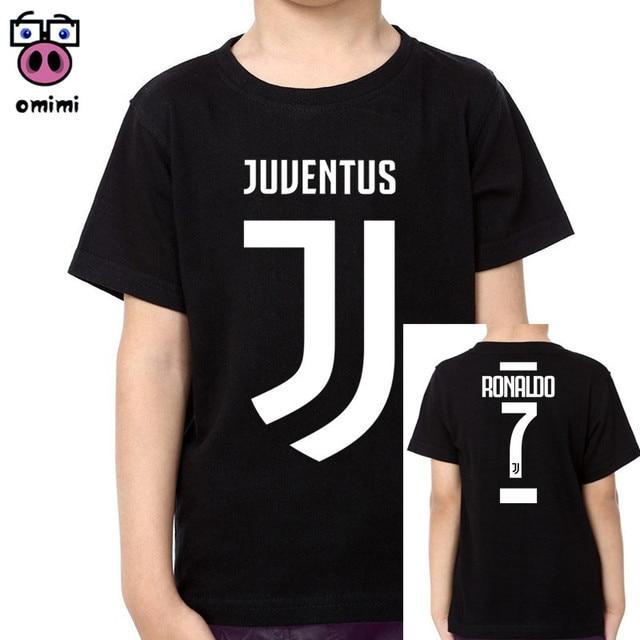 8127f697a Camiseta negra de algodón para niño