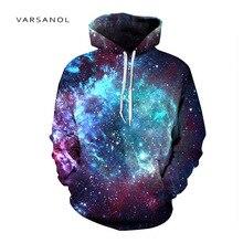 Varsanol3d Druck Sweatshirts Mit Kapuze Männer/Frauen Pullover Mit Hut Galaxy Space Star Herbst Winter Lose Thin Hoody Tops Heißer verkauf