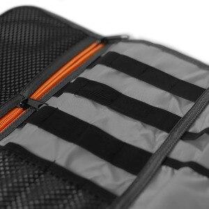 Image 5 - XILETU LP 9 Impermeabile Cavo dati Sacchetto di Immagazzinaggio acqua repellente per zanzare borse Filo Penna Accumulatori e caricabatterie di riserva Lens Filter Kit Per La macchina fotografica Digitale accessori