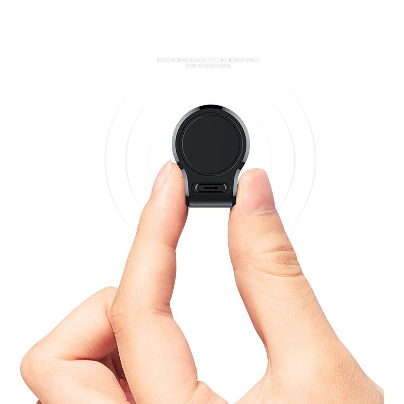 Mini Magnetic 600 Hours Intelligent Noise Reduction Hidden Voice Activated Recorder HD Long Distance Dictaphone Recording