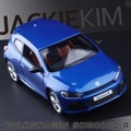 Free Shipping licensed 1:31 Volkswagen Scirocco three door warrior alloy models of children's toys
