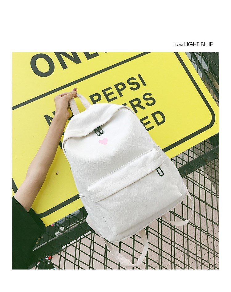 HTB1tJ2ubifrK1RjSspbq6A4pFXa0 Moon Wood Women's Backpack Canvas Printed Heart Yellow Backpack Korean Style Students Travel Bag Girl School Bag Laptop Backpack