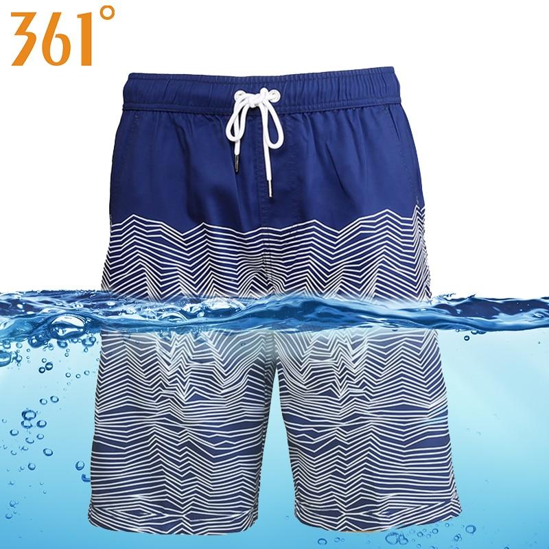 361 Men Board Shorts bathing Quick Dry Beach shorts Sports Mens Surf Pants Swim Trunks Boxer Swimming Shorts Male Swimwear