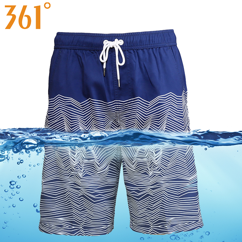 361 Men Board Shorts bathing Quick Dry Beach shorts Sports Mens Surf Pants Swim Trunks Boxer Swimming Shorts Male Swimwear