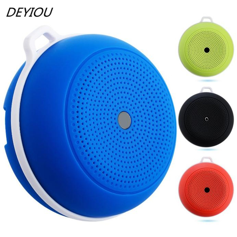 DEYIOU Portable Mini Wireless Bluetooth V4.0 Outdoor Handsfree Speaker+USB Cable Free Shipping NOM16