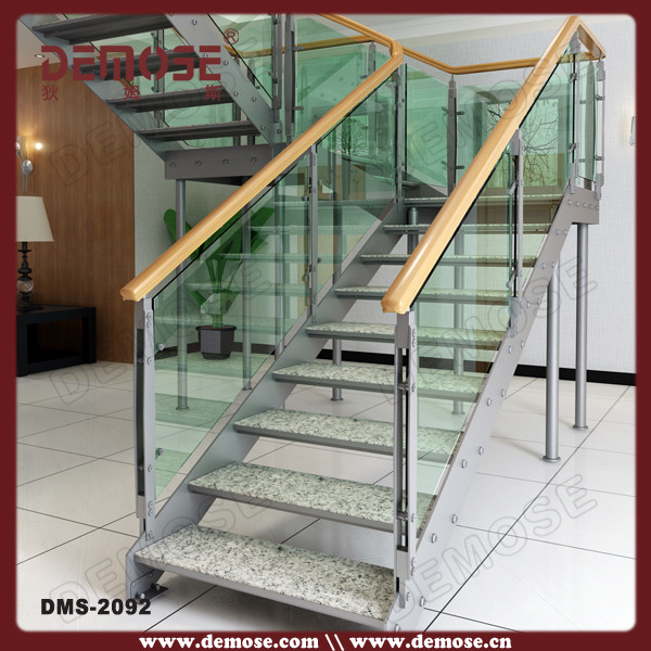 Interior Design Steel Marble Stair Steps Stair Step File Stair | Hardwood Steps For Stairs | Modern White Oak Stair | Cover | Iron Baluster | Unfinished | Staircase