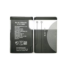2PCS/Lot BL-5C 1500mAh Battery For Nokia C2-06 C2-00 X2-01 6600 6230 5130 2310 2730 3100 6030 3120 3650 6263 7600 6820 6680(China)
