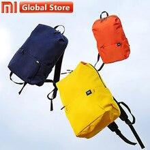 Xiao mi sırt çantası orijinal mi okul çantası 10L kentsel eğlence spor göğüs paketi çanta erkek kadın küçük boy omuz Unise seyahat kamp