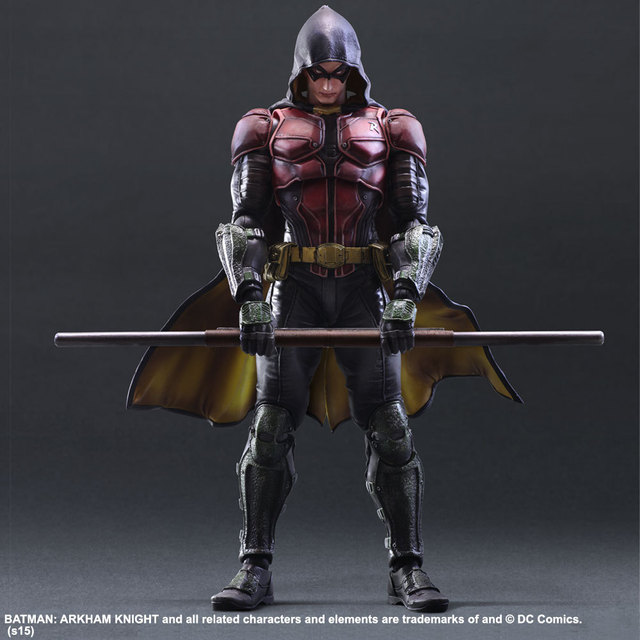 PLAY ARTS SQUARE ENIX PA 1/6 Batman Arkham Knight Robin 12″ Collectible Action Figure 28cm