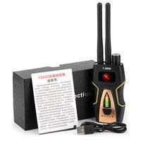 Mejor Detector de insectos RF Detector de señal Anti espía cámara oculta GSM dispositivo de escucha GPS