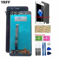 5.0'' LCD Display For ZTE Blade A510 BA510 LCD Display Digitizer With Touch Screen Assembly Repair Parts Tools Protector Film