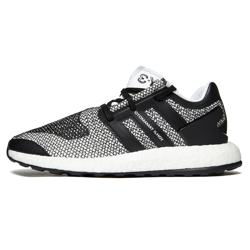 buy online 1b52b 72618 Adidas Y 3 Pure Boost Men s Running Shoes ,Grey   Black,Wear resistant  Breathable Lightweight Damping CP9888-in Running Shoes from Sports    Entertainment on ...