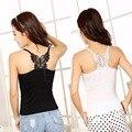 Новый Сексуальный Женщины Леди Кружева Ремень Рукавов Рубашки Жилет Блузка Танк Tops-J117