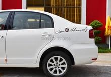 цена на Umbrella Car Stickers Leon Kennedy EyelidsCar Decal Stickers for Toyota Ford Chevrolet Volkswagen Honda Hyundai Kia Lada