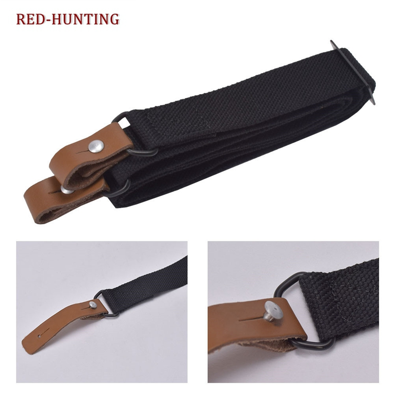 2 Point Rifle Sling,Two Point Gun Sling with Length Adjuster Hunting Shooting.