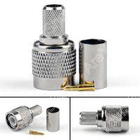 Sale High Quality 10 X TNC Plug Male Crimp For RG5 RG6 5D FB LMR300 Cable