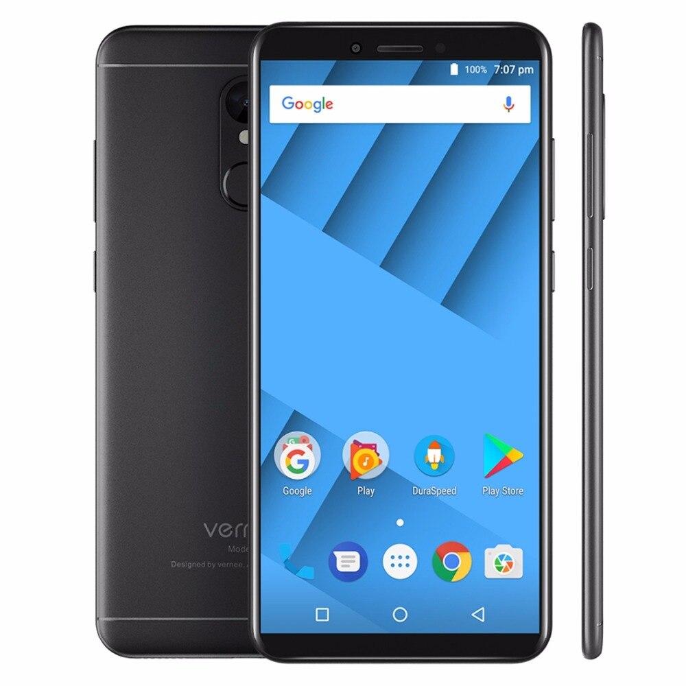 vernee M6 Cellphone 5.7 inch 18:9 IPS Screen 4GB RAM 64GB MTK6750 Octa Core Android 7.0 Smartphone 13MP Fingerprint 3300mAh OTG