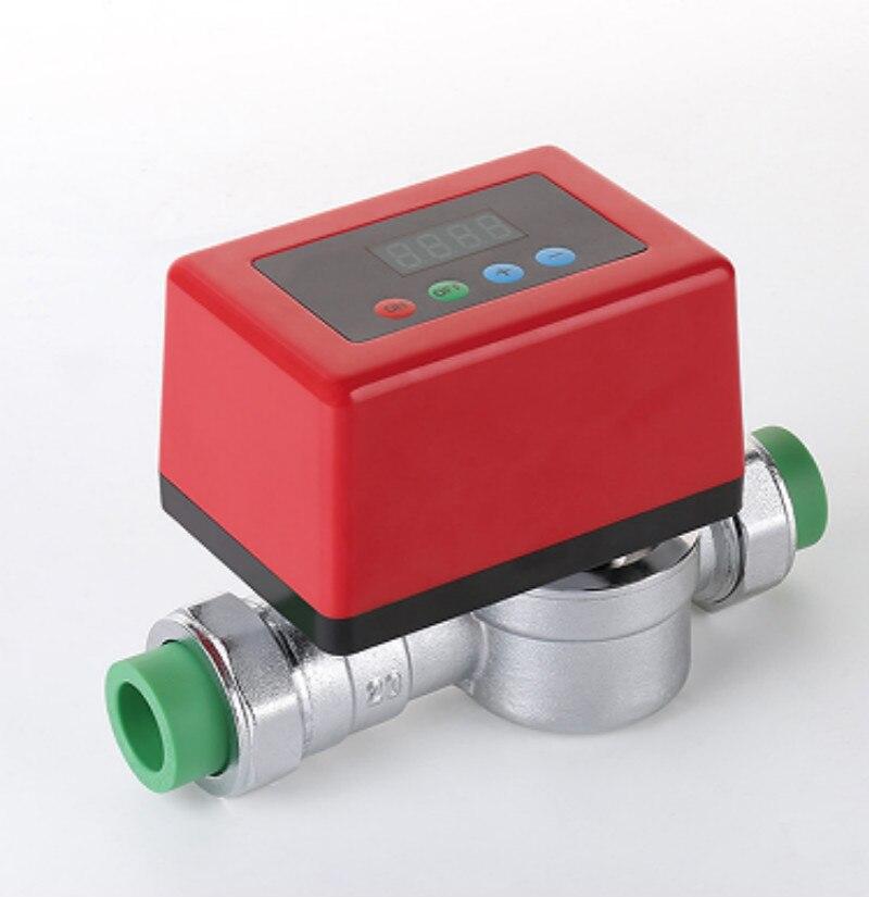 Детектор утечки воды сигнализация бытовой воды предохранительный клапан DN25 DN32