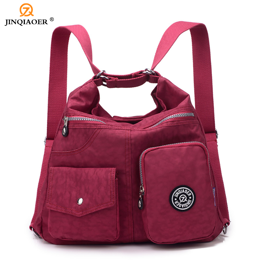 JINQIAOER Women messenger bags Waterproof Nylon Shoulder Bag Female Crossbody Bags For Women Handbag 2017 bolsos mujer J141 jinqiaoer women messenger bag ladies crossbody bags for women waterproof handbags nylon large shoulder bag female bolsa feminina