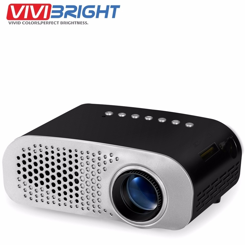 Portable LED Projector Cinema Theater Support PC Laptop With tv tuner Mini Pocket Beamer
