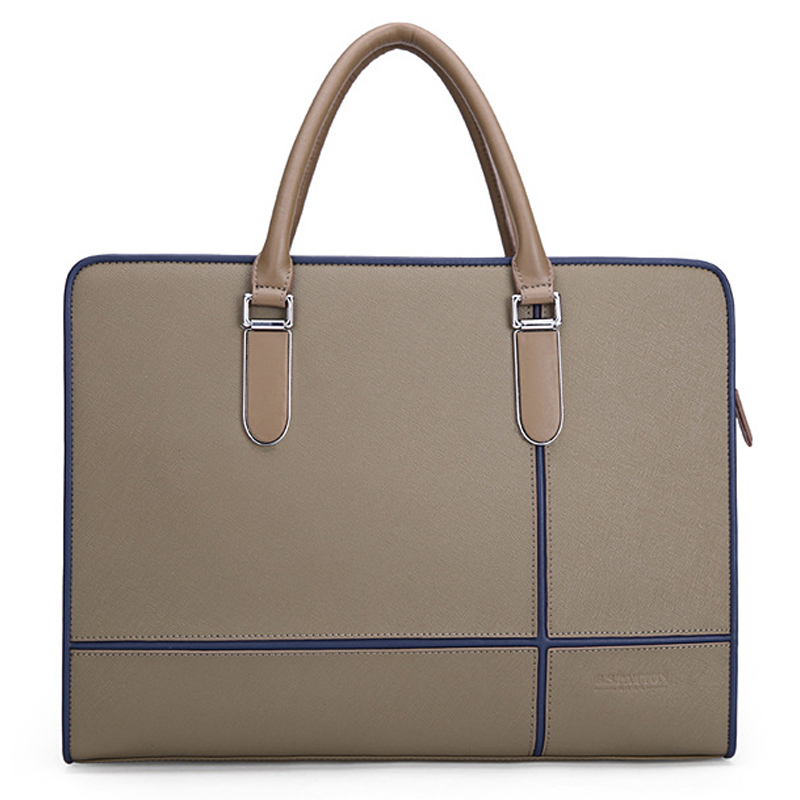 High Quality Leather Men Laptop Briefcase Bag 8 Inch Pad Bags Brand designer Handbag Business bag Single shoulder business bags new high quality leather men laptop briefcase bag 14 inch computer bags handbag business bag fashion laptop handbag for men