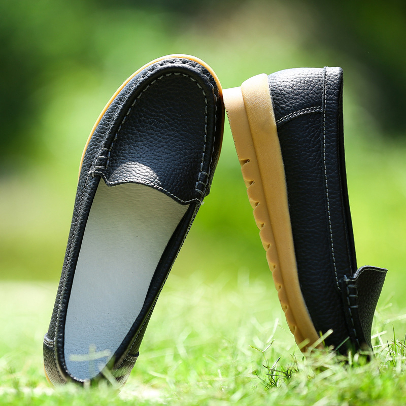 Women's Flats 2017 Genuine Leather Women Shoes Moccasins Colors Fashion Loafers Oxford Slip On Women's Flats New Arrival Ballet casual shoes 2016 fashion genuine leather loafers moccasins slip on flats shoes black golden sliver 3 colors